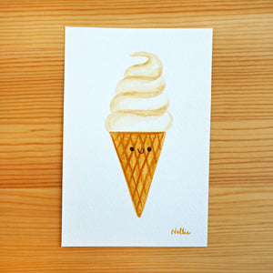 Vanilla Swirl - Mini Painting