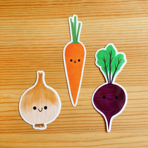 Veggie Friends Sticker Pack