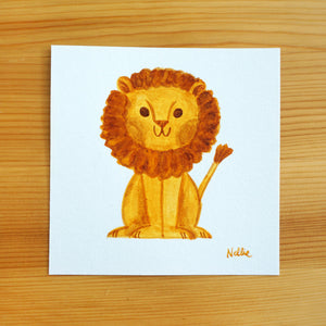 Lil Lion - Mini Painting