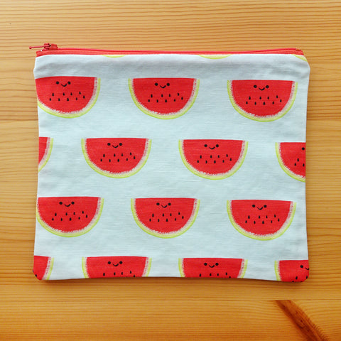 Watermelon Zip Pouch