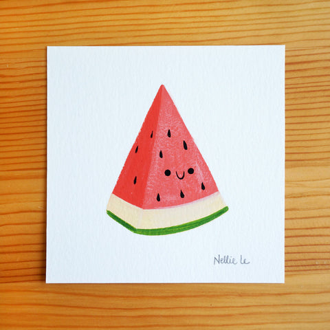 Watermelon Wedge - Mini Painting