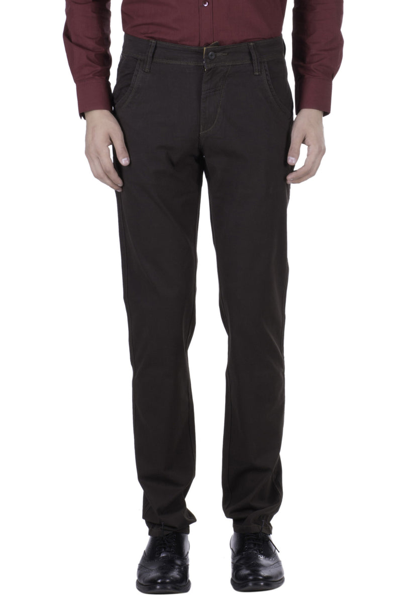 Hoffmen Slim Fit Men's Casual Trousers BC1050/02