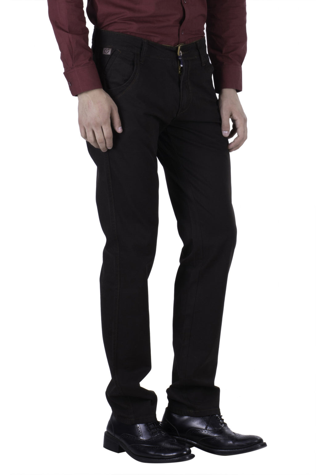 Hoffmen Slim Fit Men's Casual Trousers BC1050/03
