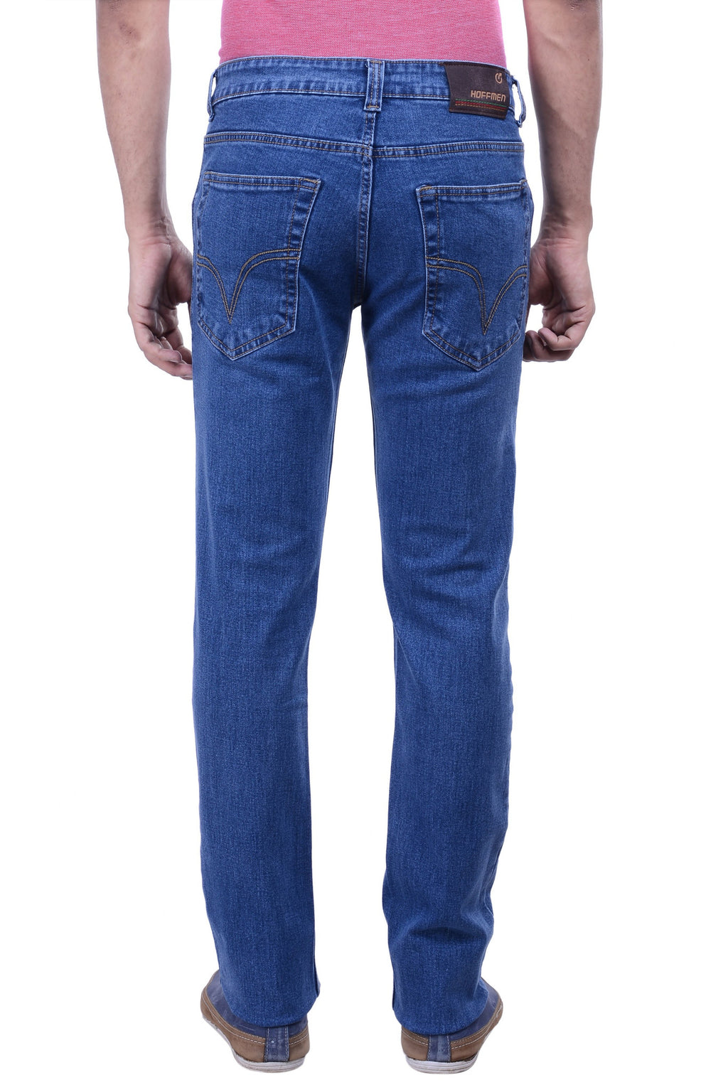 Hoffmen Slim Fit Semi Bleach Jeans BSG3902
