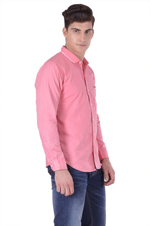 Hoffmen Men's Solid Casual Shirt CF7077