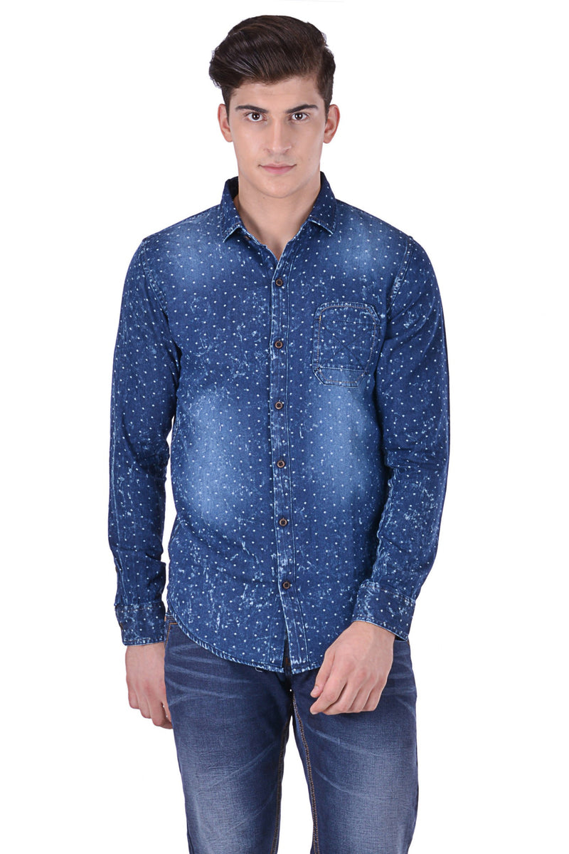 Hoffmen Men's Solid Casual Shirt CF7084
