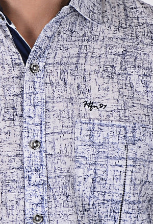 Hoffmen Men's Solid Casual Shirt CF7097