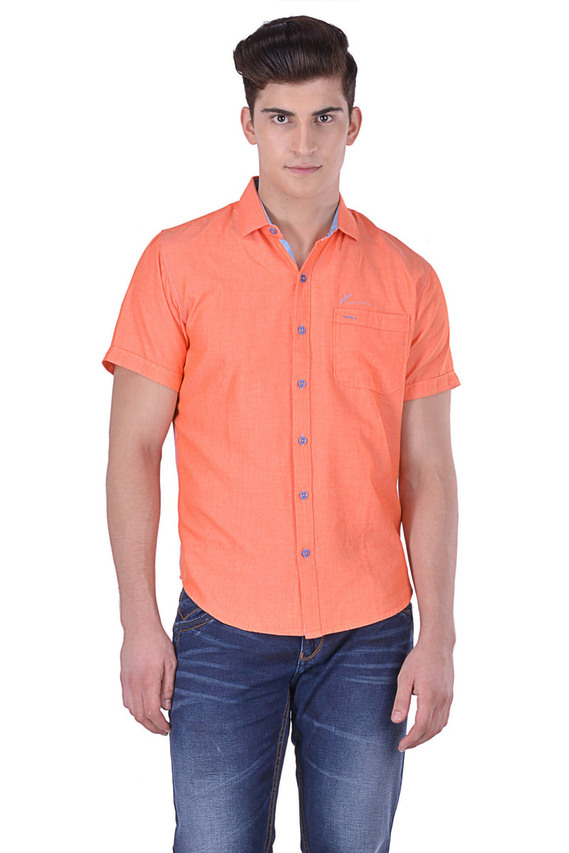 Hoffmen Men's Solid Casual Shirt CP1058