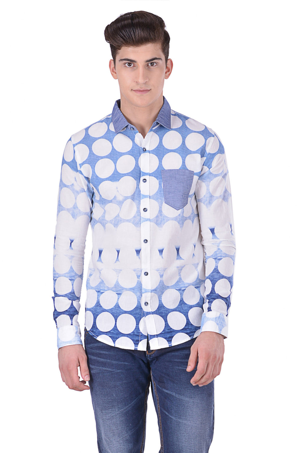 Hoffmen Men's Casual Shirt CR6053