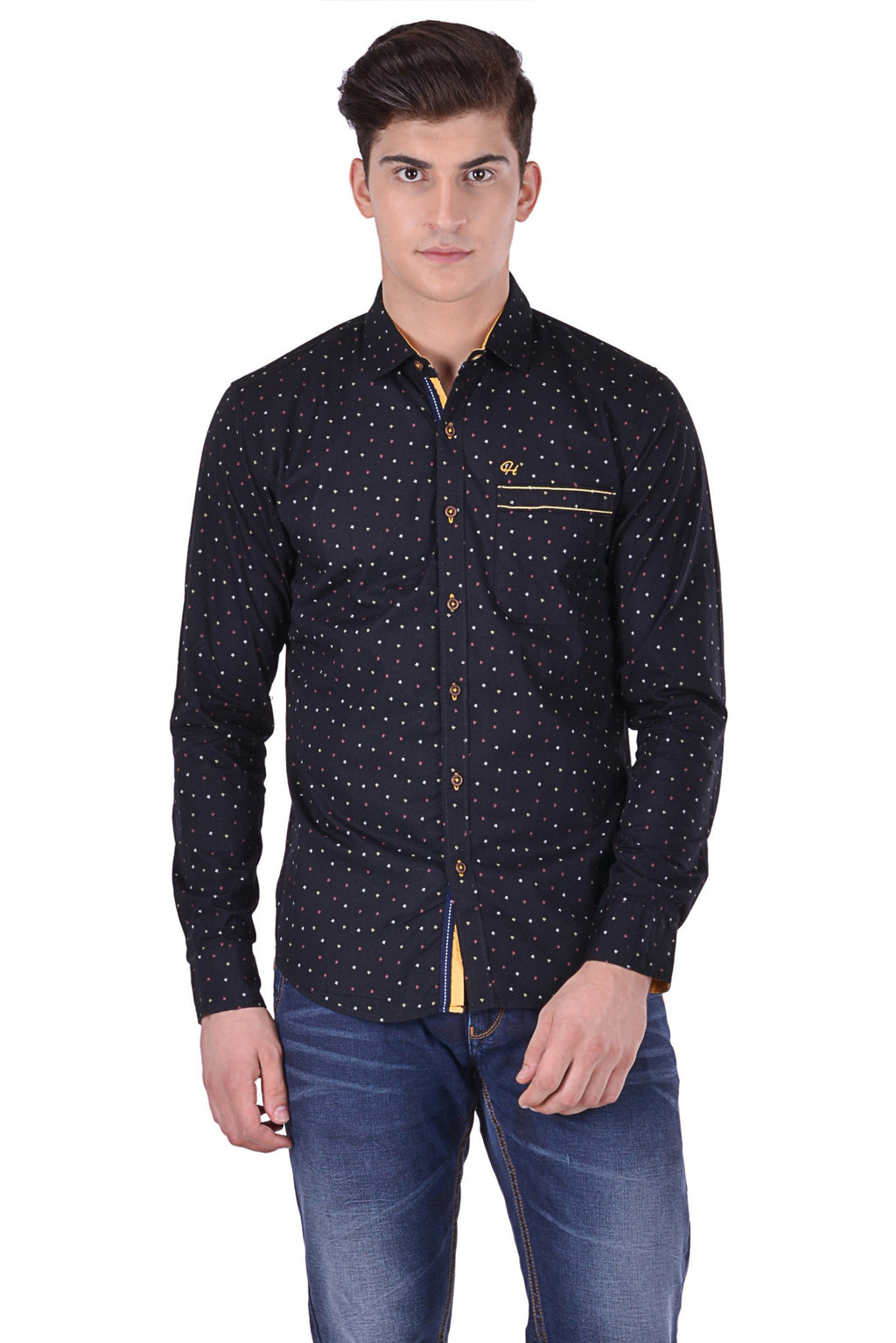 Hoffmen Men's Casual Shirt CR6068