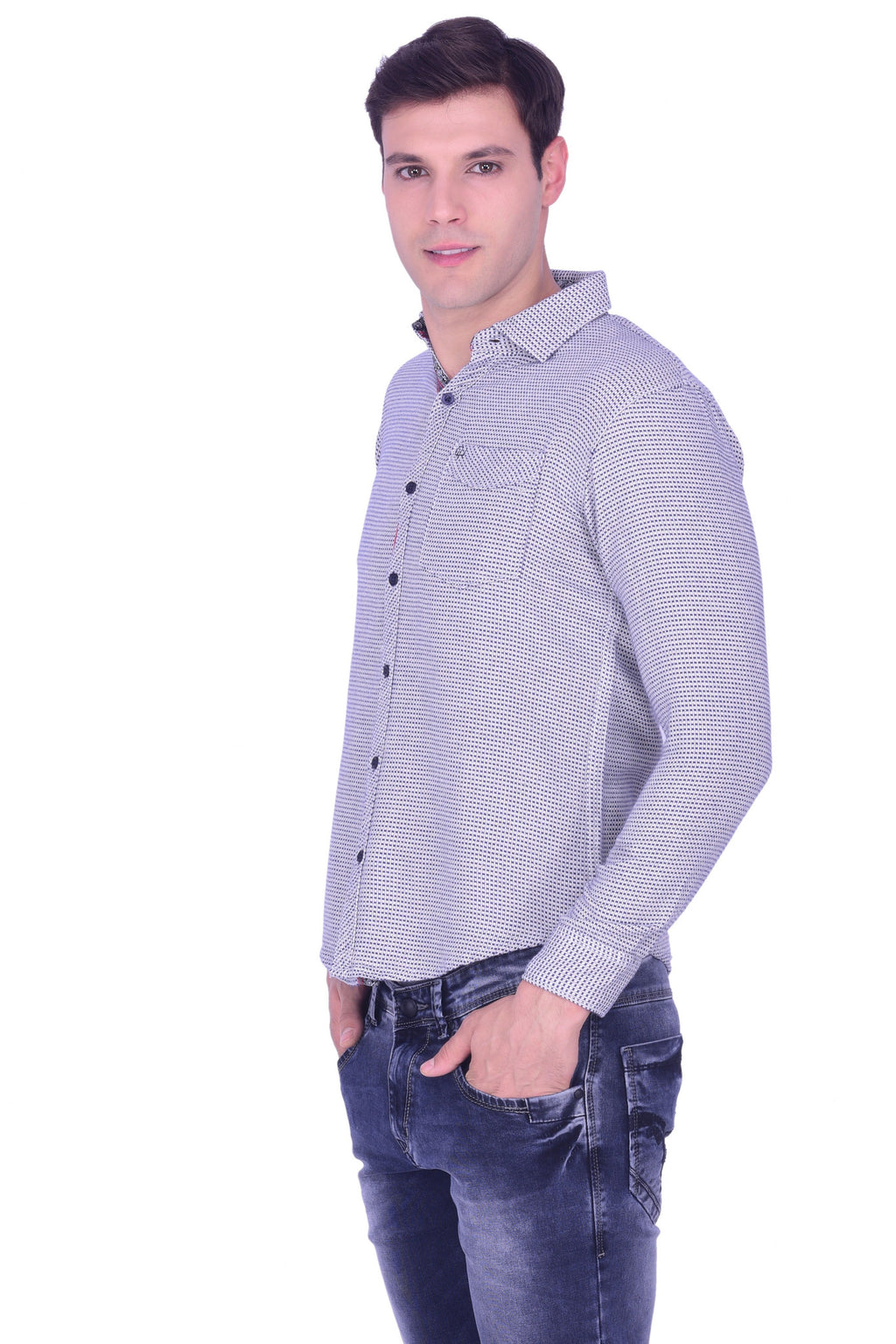 Hoffmen Men's Casual Shirt CD3012