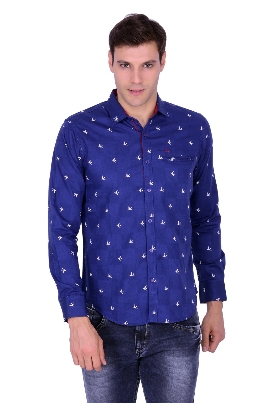 Hoffmen Men's Casual Shirt CR6101