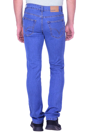 Hoffmen Men's Basic Stretch Semi Bleach Jeans BSG6602