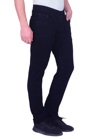 Hoffmen Men's Basic Stretch Black Jeans BSG6603
