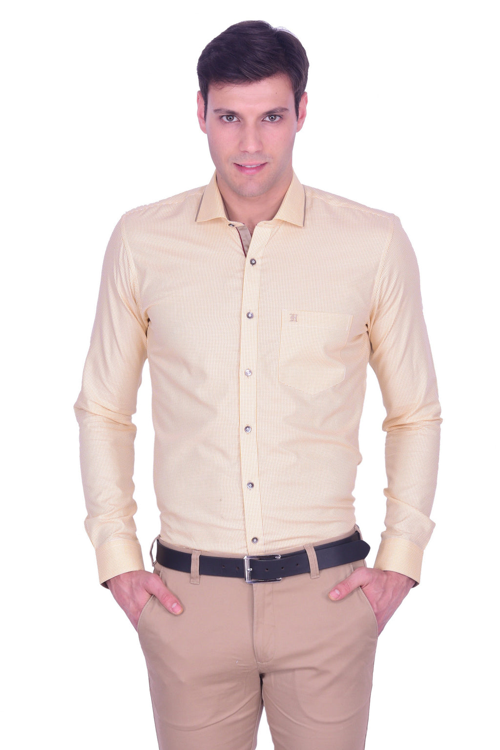 Hoffmen Men's Party Shirt PD3086