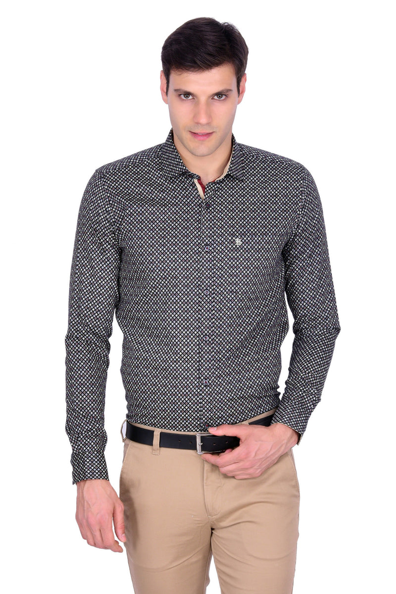 Hoffmen Men's Party Shirt PR6091