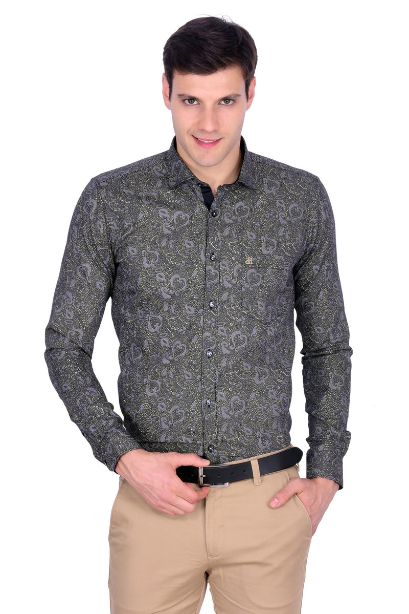 Hoffmen Men's Party Shirt PR6093