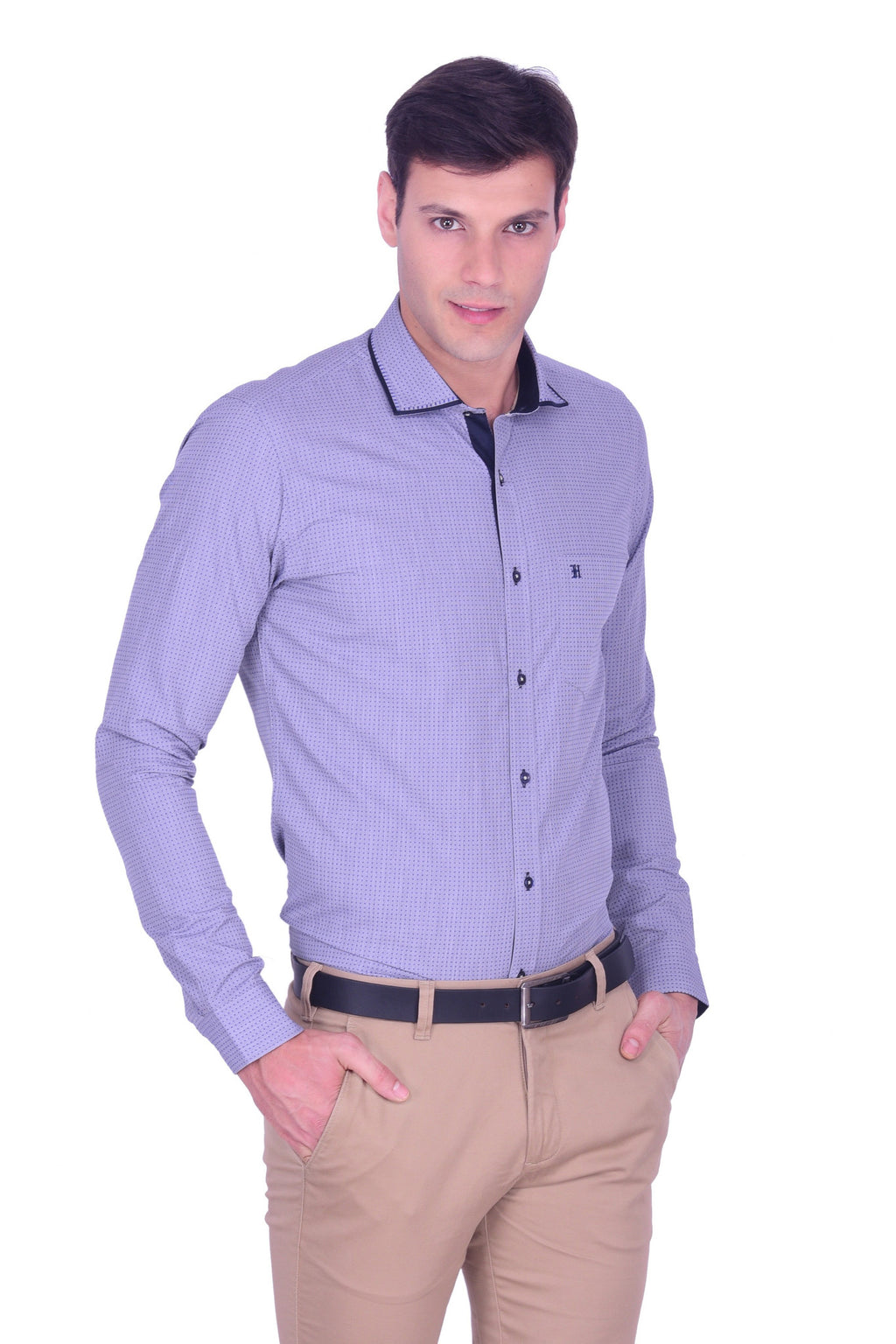 Hoffmen Men's Party Shirt PD3091