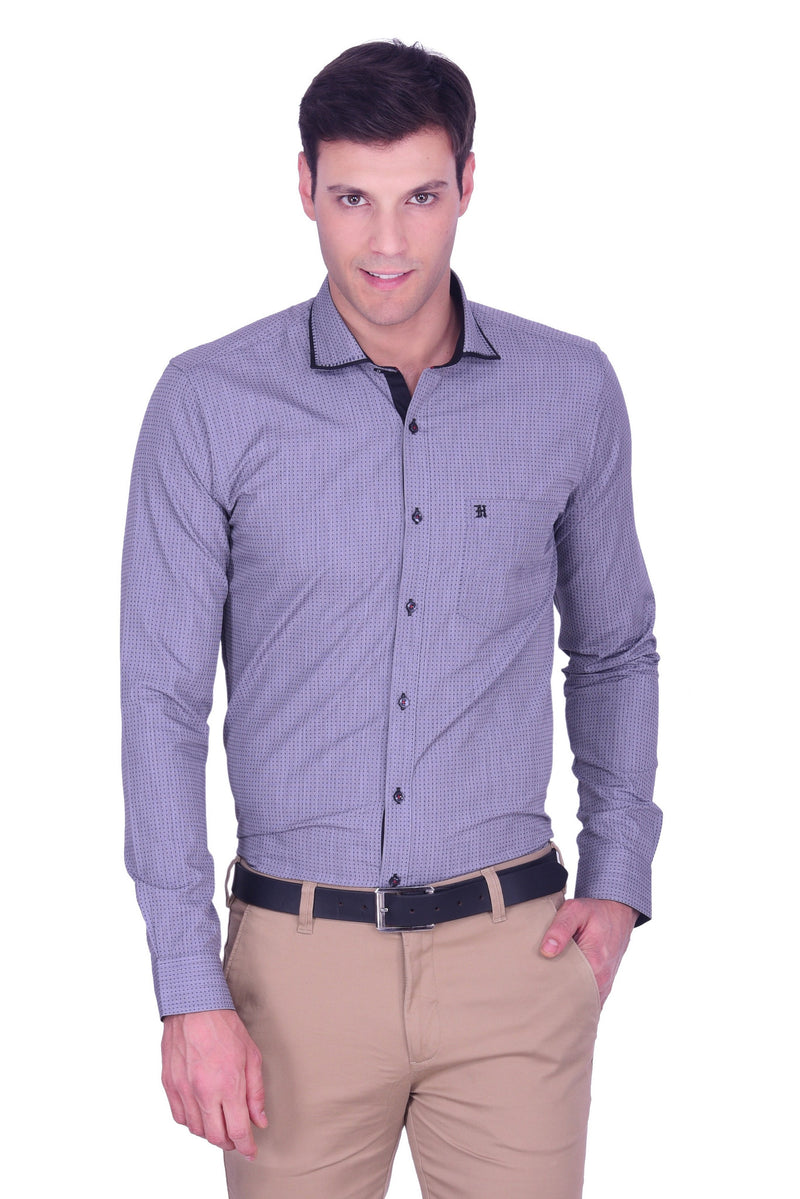 Hoffmen Men's Party Shirt PD3090