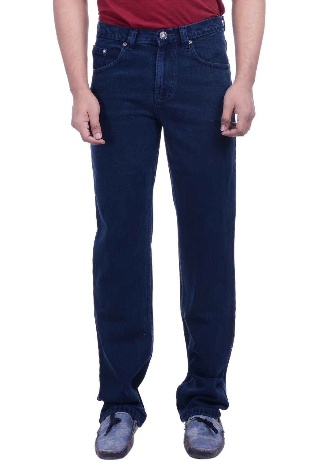 Hoffmen Regular Fit SAPHIRE BLUE Men's Jeans EDG2909