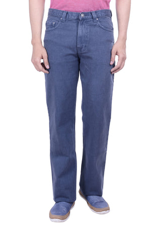 Hoffmen Regular Fit MEDIUM GREY Men's Jeans EDG2907