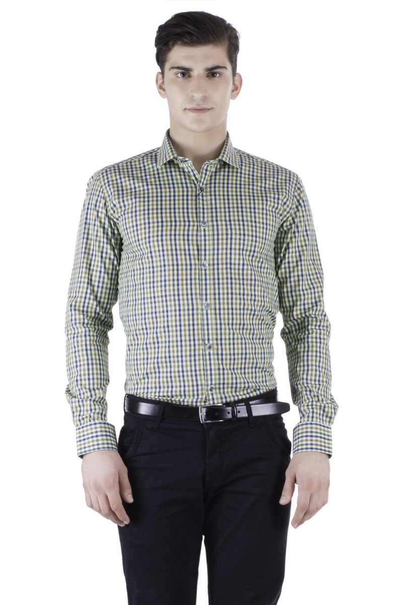 Hoffmen Men's Checkred Formal Shirt HS5122