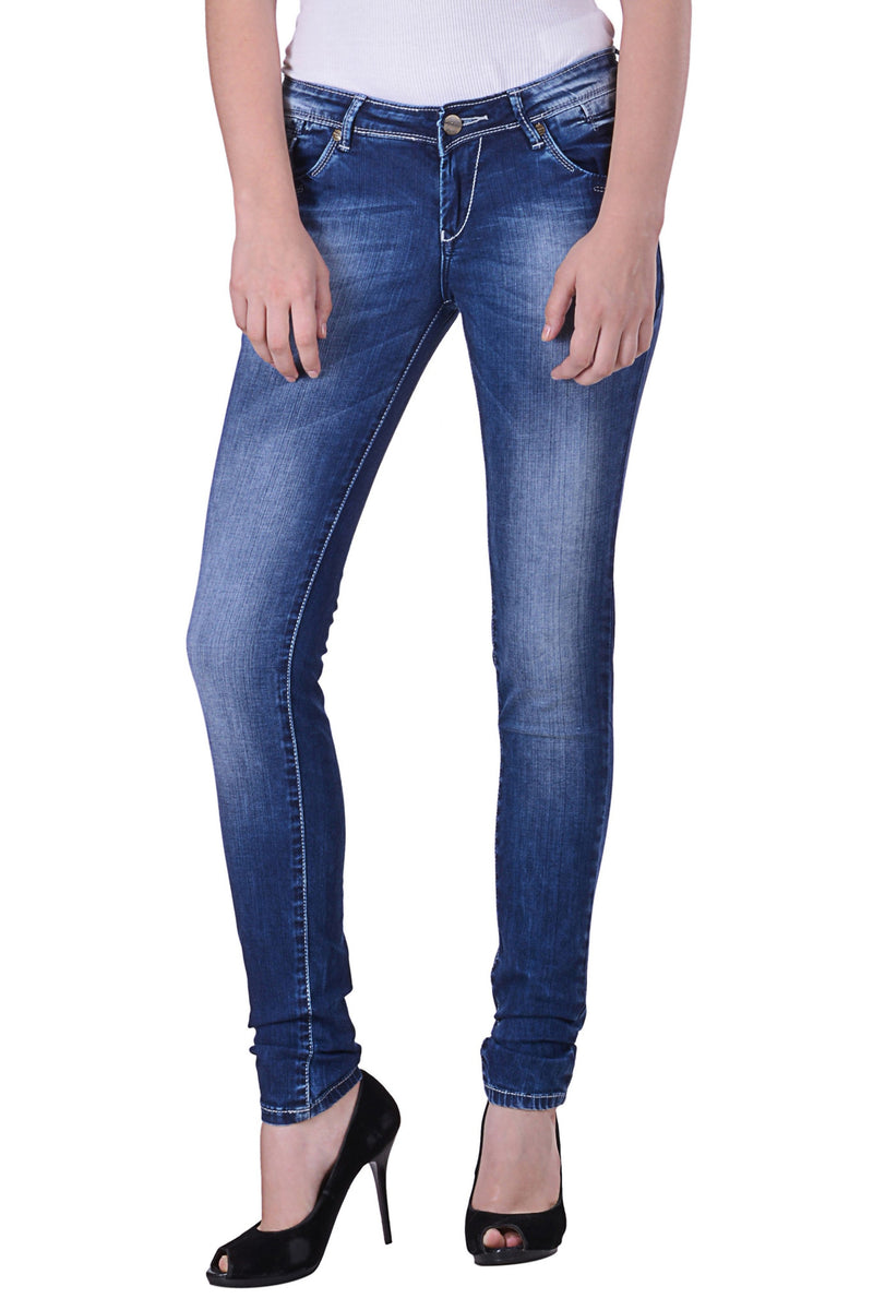 Hoffmen Slim Fit Women's Blue Jeans MSB1212