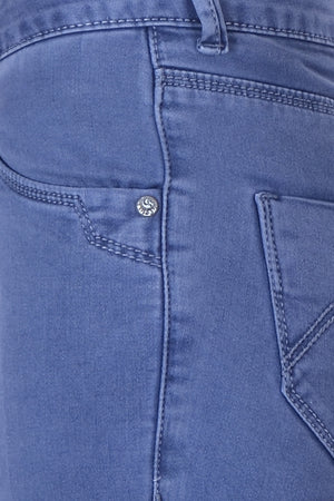 Blue Scraggy Basic Denim MSBS8008