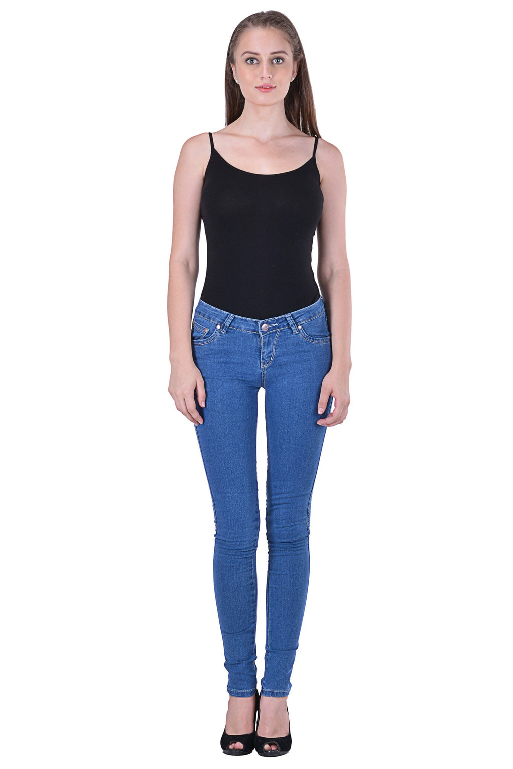 Semi Bleach Basic Jeggings MSJG4902