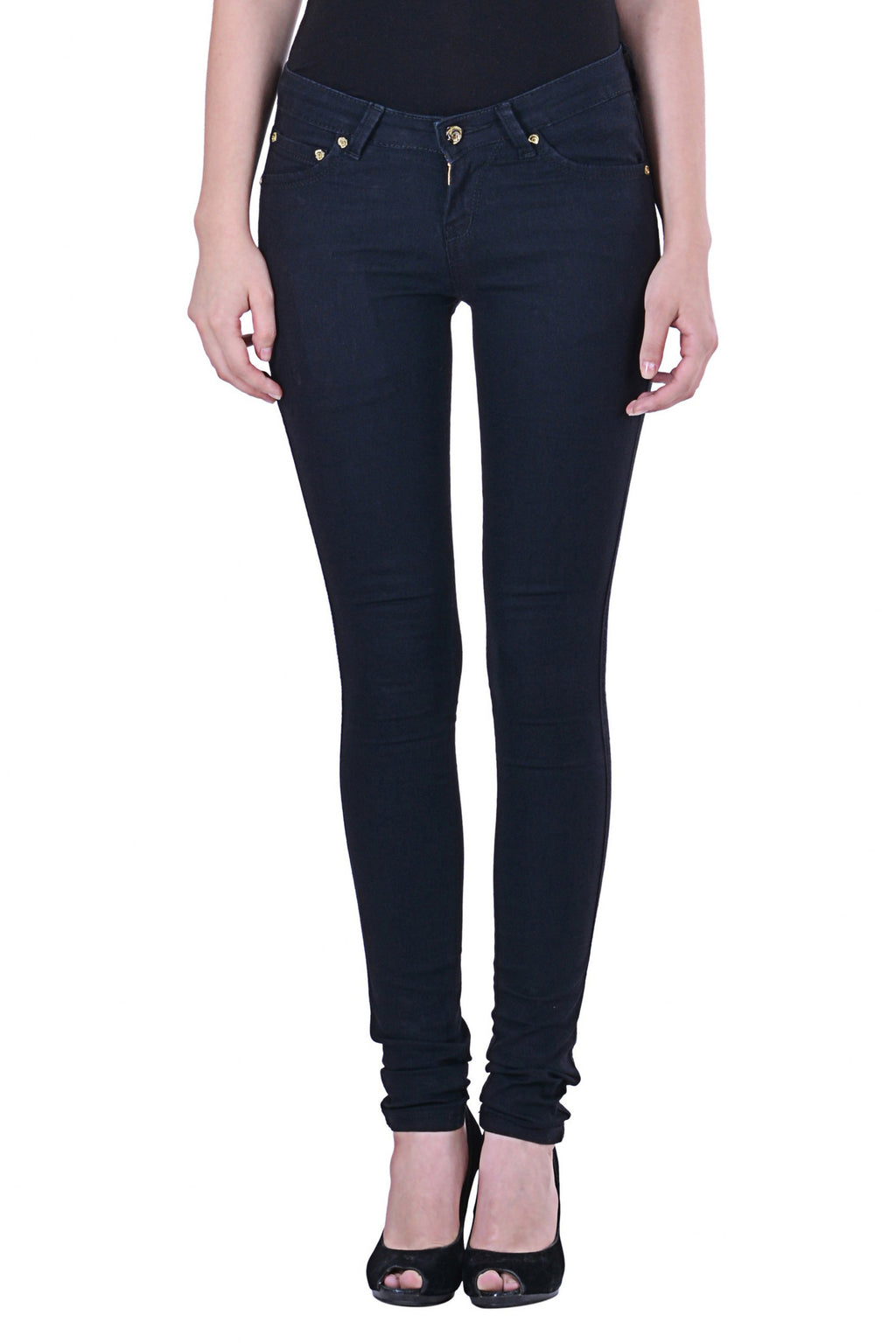 Black Basic Jeggings MSJG4903