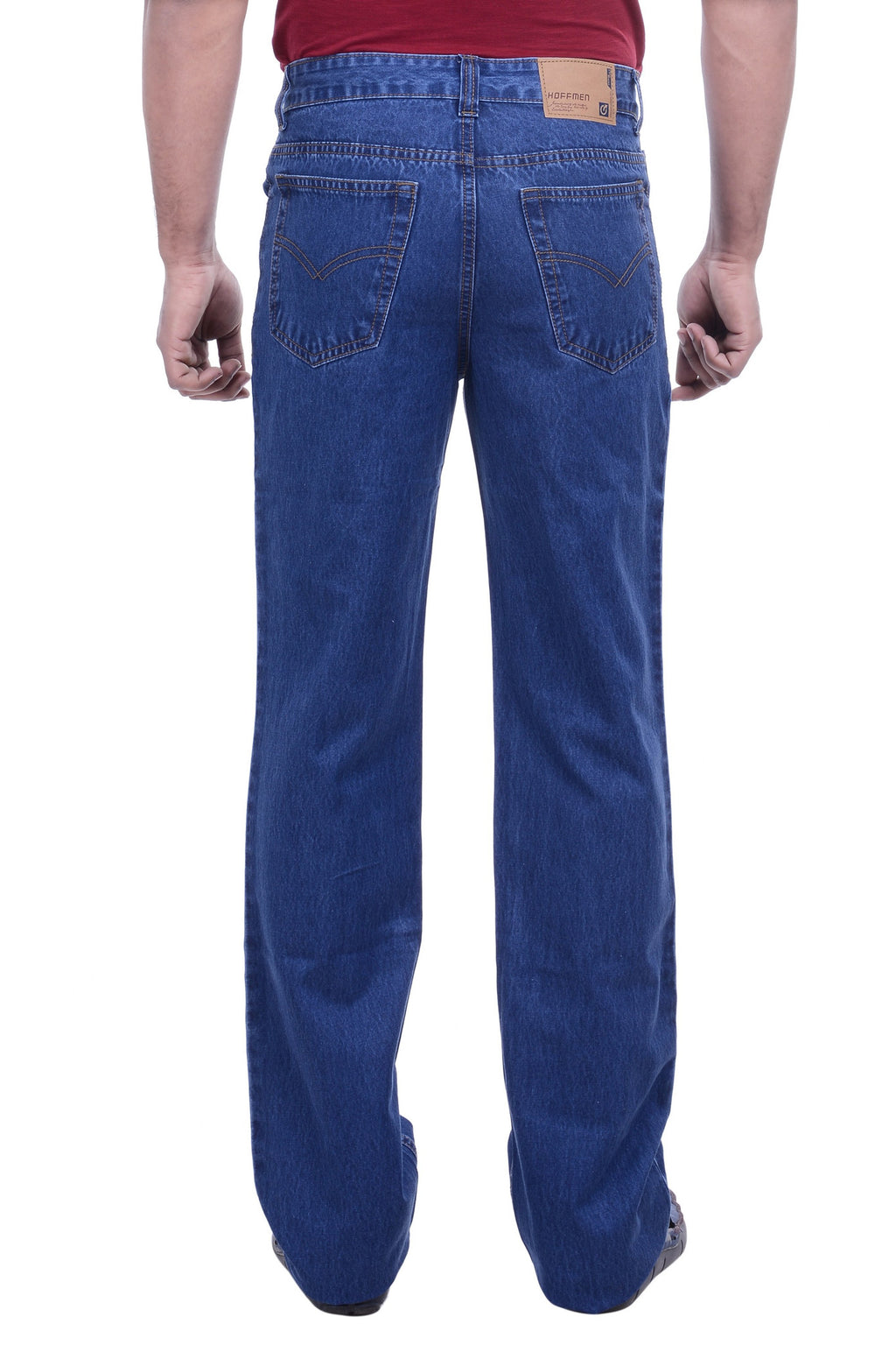 Hoffmen Men's Regular Fit  Cowboy Denimax Silky Jeans SDG2101