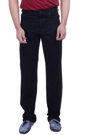 Hoffmen Regular Fit Men's BLACK Jeans SDG2103