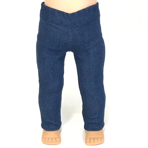 "Jeggings for American girl and 18"" doll"