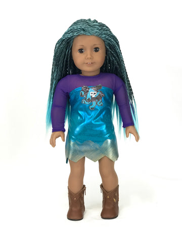 descendants uma outfit for american girl doll american girl doll