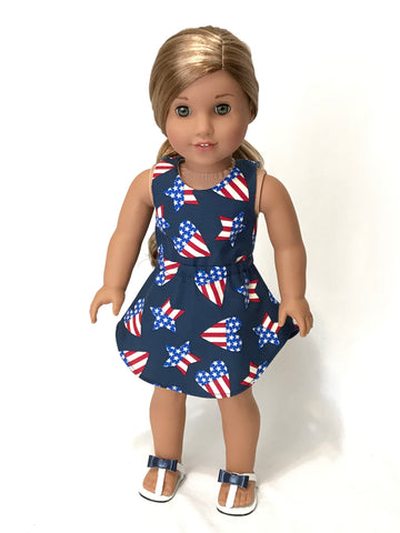 American girl doll patriotic 4th of July clothes
