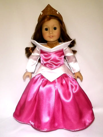 Disney Princess Aurora (Sleeping Beauty) outfit for American Girl Doll