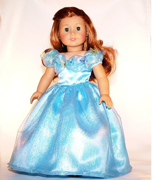 Cinderella Fairytale Fashion Pack Doll Accessories: Princess Cinderella Movie Dress For American Girl Doll