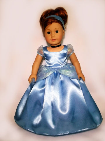Disney Princess Cinderella outfit for American Girl Doll