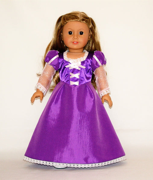 Disney Princess Rapunzel Tangled Outfit For American