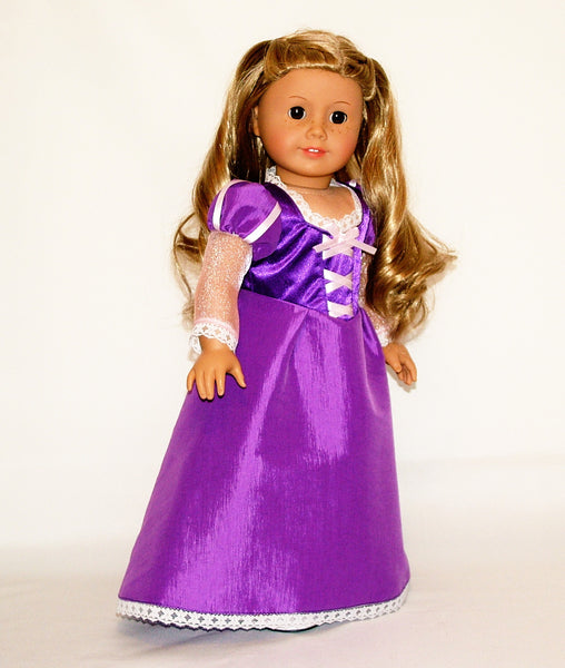 Disney Princess Doll Clothes: Disney Princess Rapunzel (Tangled) Outfit For American