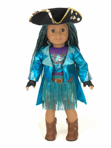 Descendants Uma outfit for American Girl Doll