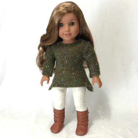 Olive Sweater for American Girl Doll