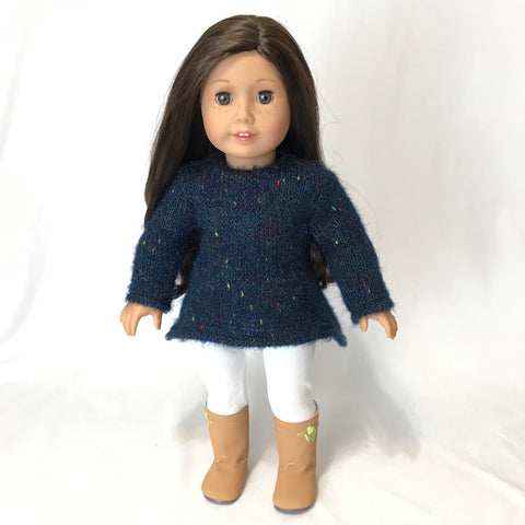 Blue Sweater for American Girl Doll