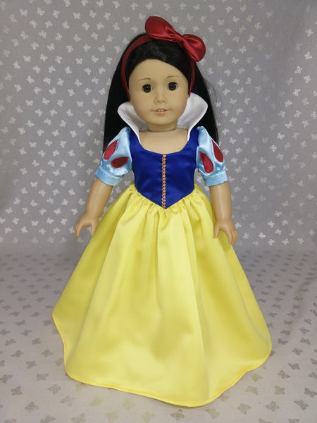 Disney Princess Snow White Dress Outfit For American Girl