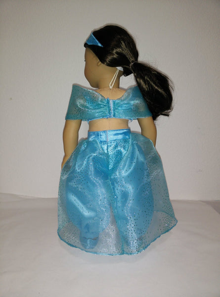 Disney Princess Jasmine Aladdin Outfit For American Girl