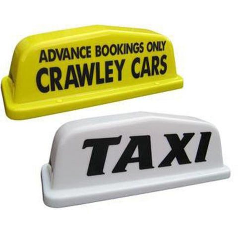 "18"" Point Taxi Roof Sign - Taxi-Mart Shop"