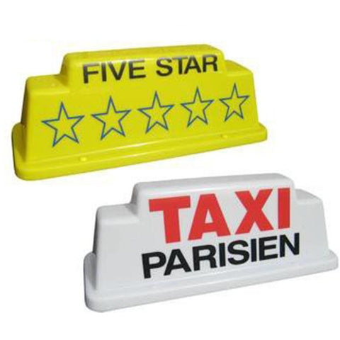 "18"" Raised Taxi Roof Sign - Taxi-Mart Shop"
