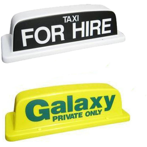 "18"" Standard Taxi Roof Sign - Taxi-Mart Shop"