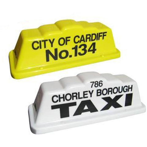 "18"" Step Taxi Roof Sign - Taxi-Mart Shop"