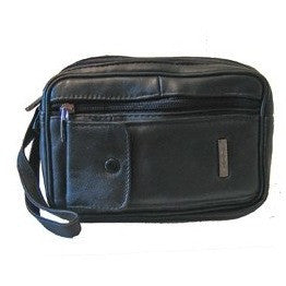 Lorenz Soft Black Leather Taxi Drivers Money Bag - Taxi-Mart Shop